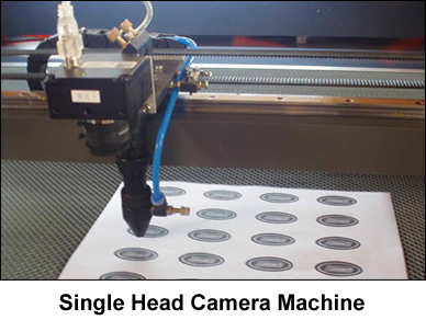 Single-head-camera-machine