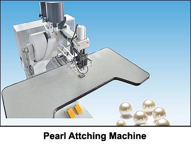 pearl-attaching-machine